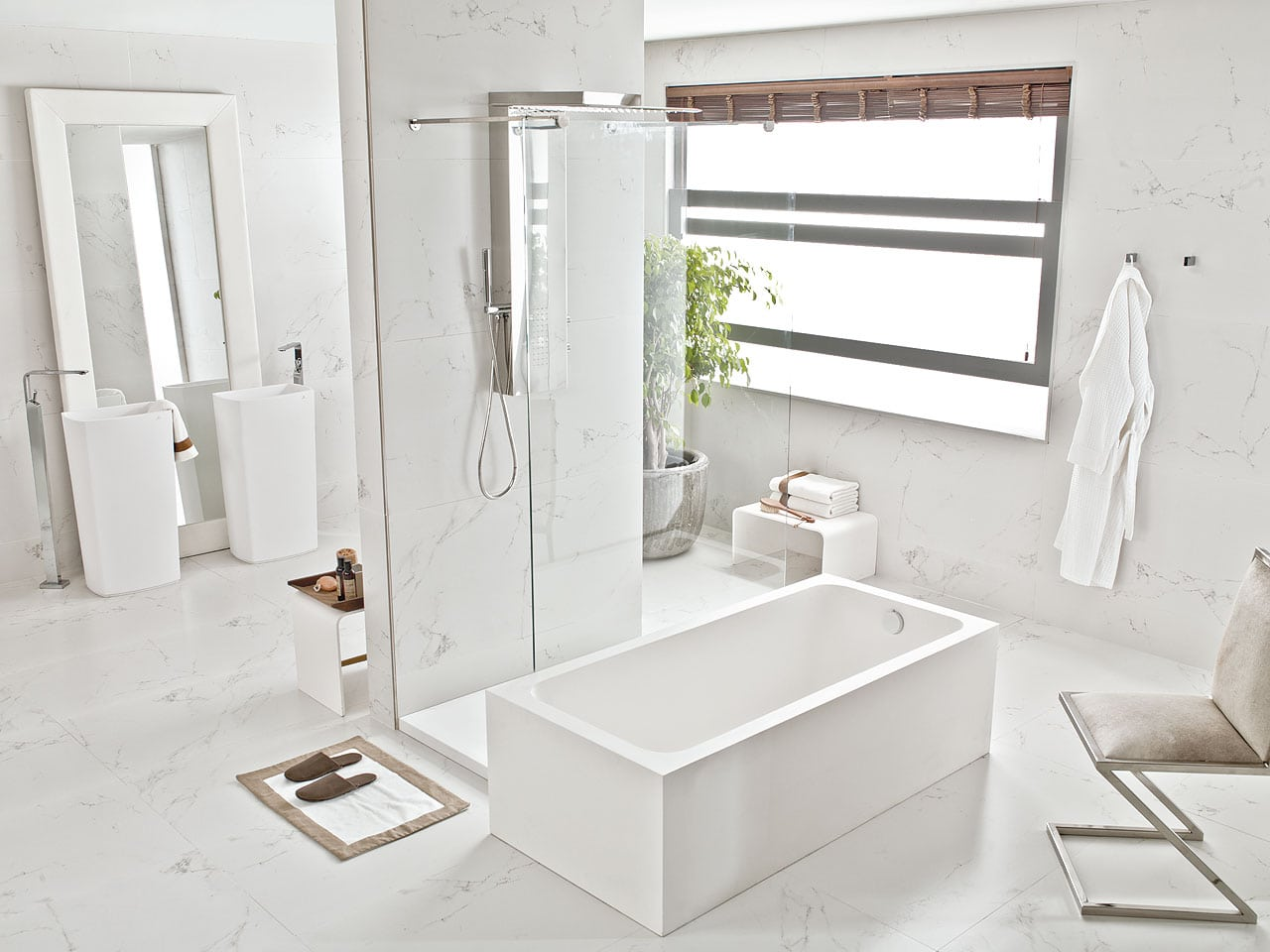 Porcelain tiles crestwood of lymington for Porcelanosa salle de bain