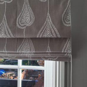 Master Bedroom Roman Blind