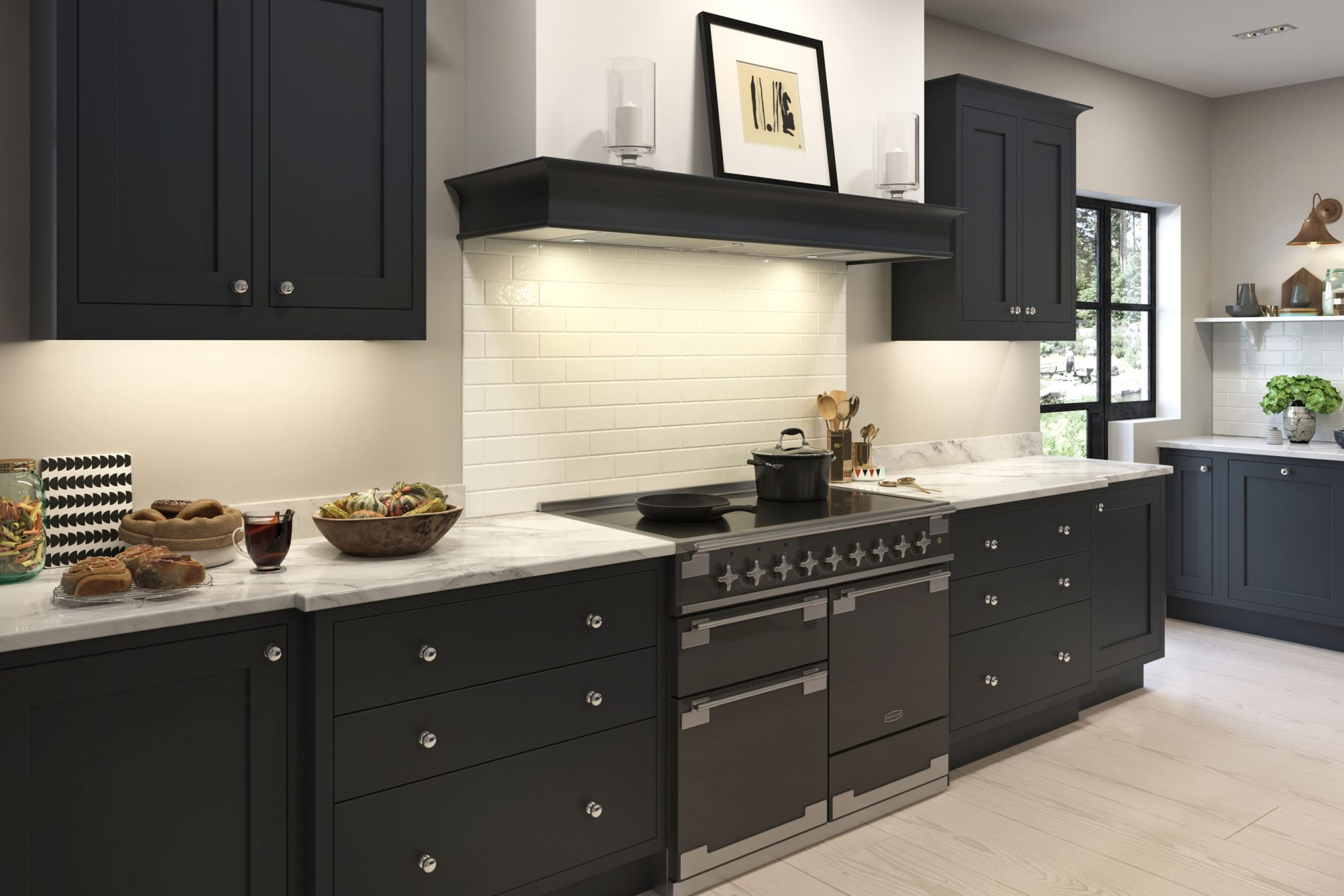 Brampton kitchen at Crestwood of Lymington